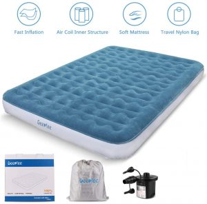 Deeplee Blow-Up Bed Inflatable Mattress