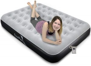 EnerPlex Never-Leak Camping Series Queen Camping Airbed