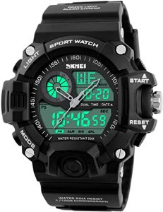 Fanmis Analog Digital Dual Display Sport Watch
