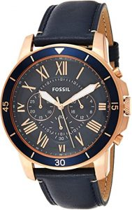 Fossil Men Grant Sports Stainless Steel Watch