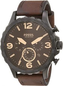 Fossil Men Nate Stainless Steel Watch