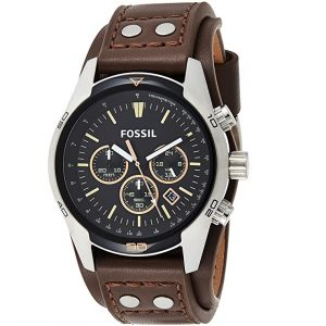 Fossil Men?s Coachman Quartz Leather Watch