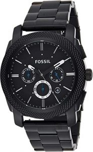 Fossil Men?s Machine Stainless Steel Watch
