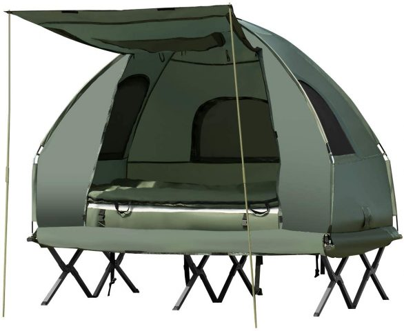Gymax Camping Tent Cot