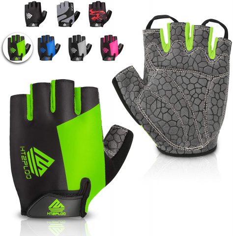 Htzploo Half Finger Bike Gloves