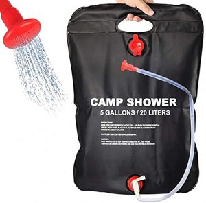 Abestolife Solar Camping Shower Bag 5 Gallons