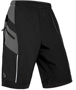 Baleaf Men's MTB Shorts Loose Fit Lightweight UPF 50+