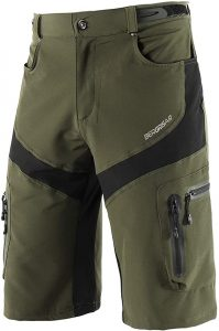 Bergrisar Men's MTB Shorts Zipper Pockets 1806BG