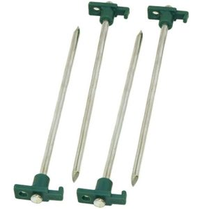 Coleman 10-Inch Steel Nail Tent Pegs