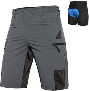 Hiauspor Men's Baggy MTB Shorts