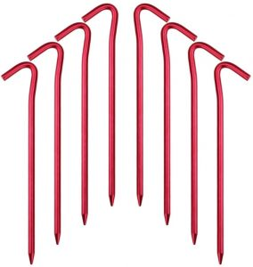 Hikemax 7075 Aluminum Tent Stakes