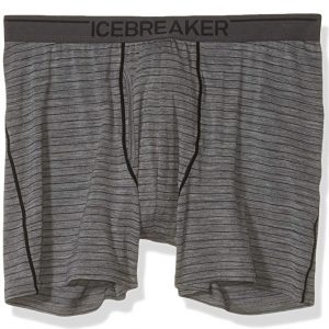 Icebreaker Men?s Anatomica Boxers with Fly