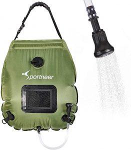 Sportneer Solar Shower Bag