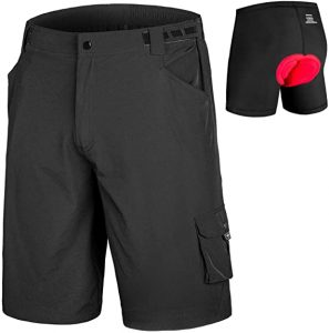 The Qualidyne Men's MTB Cycling Shorts