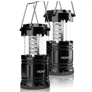 Vont 2 Pack LED Camping Lantern