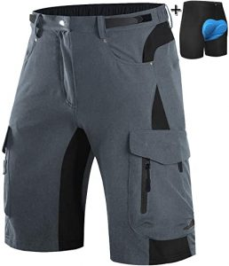 Wespornow Men's MTB Shorts with 6 Pockets