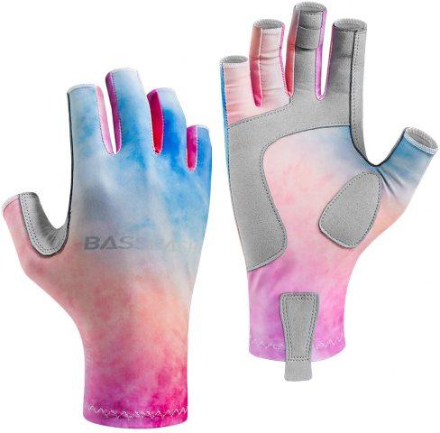 Bassdash Altimate UPF 50+ Women?s Fishing Gloves