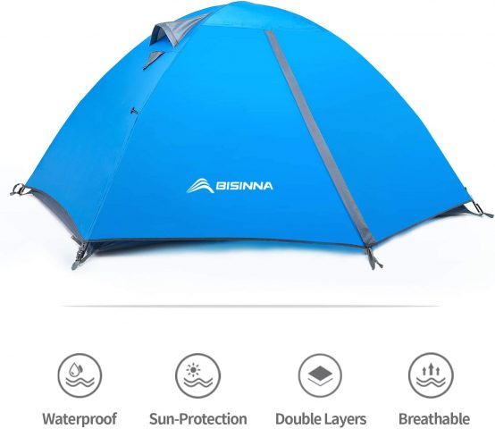 Bisinna 2-Person Camping Tent