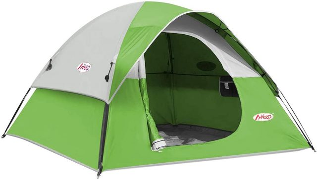 Campros 3-4 Person Dome Tents for Camping