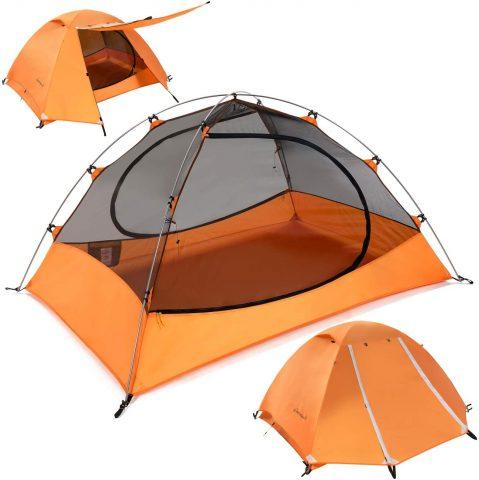Clostnature Lightweight Backpacking Tent - 3 Season