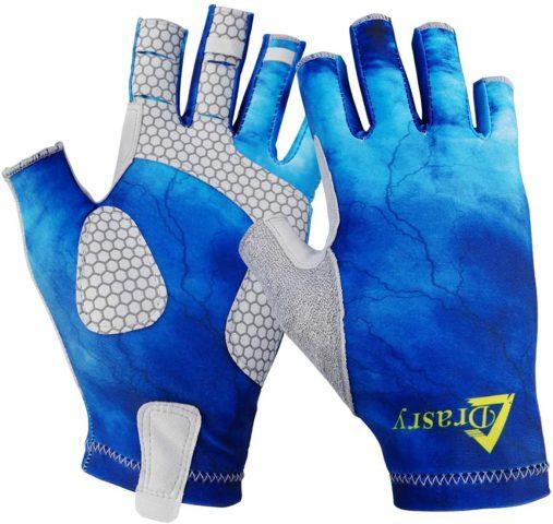 Drasry UV Protection Fingerless Gloves