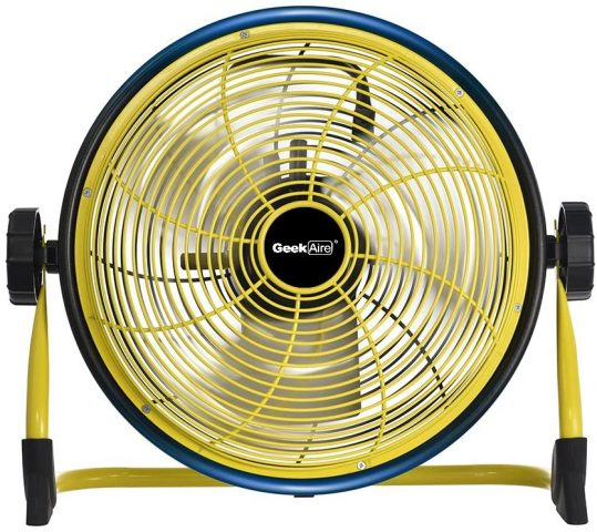 Geek Aire Rechargeable High Velocity Cordless Floor Fan