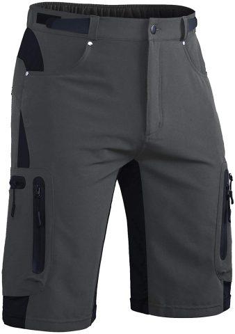 Hiauspor Men?s HikingCargo Pants with Zipper Pockets