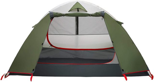Moon Lence Camping Tent 1 and 2 Person Backpacking Tent