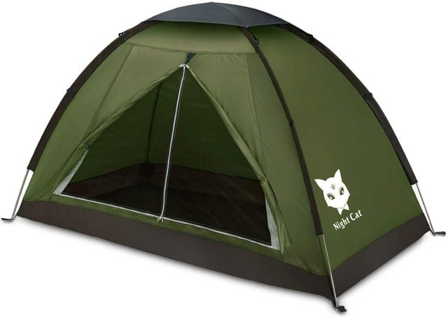 Night Cat Backpacking Tent for One 1 to 2 Persons