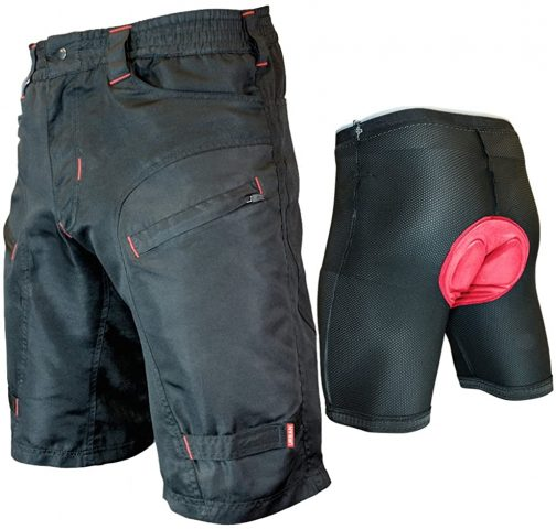 Urban Cargo Shorts with G-Tex Padded Undershorts