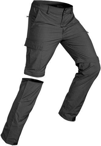 Wespornow Men's-Convertible-Hiking-Pants